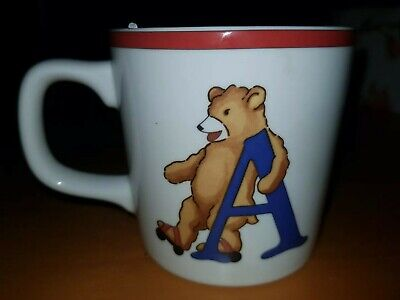 Alphabet Bears by Tiffany & Co Cup 1994