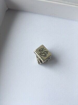 Authentic Pandora Study Books Charm Sterling Silver S925 ALE