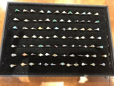 170 Rings, Costume Jewellery, Job Lot, New