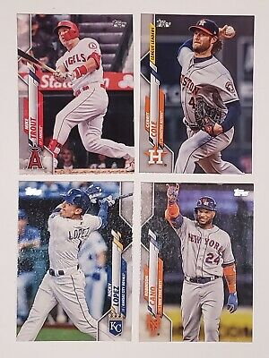 2020 Topps Series 1 #1-175 Baseball Singles. Complete Your Set!