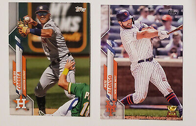 2020 Topps Series 1 #176-350 Baseball Singles. Complete Your Set!