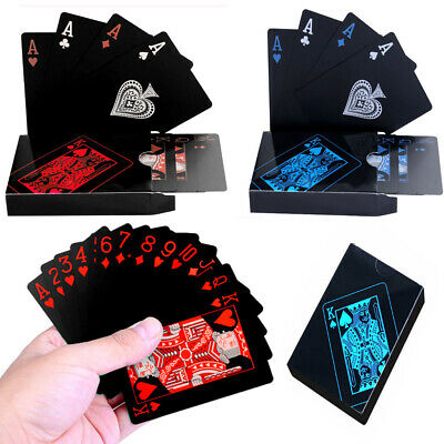 PROFESSIONAL PLASTIC COATED PLAYING CARDS Waterproof Poker Card Party Game Gifts
