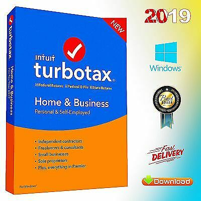 TurboTax Home & Business 2019 ✔️ Latest Version ✔️ Life time ✔️ Fast Delivery
