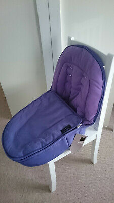 New iCandy Peach 2 Parma Violet Footmuff/Cosy Toes