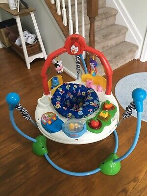 Fisher-Price Laugh Learn Jumperoo, Baby Activity Music Lights Jumper