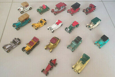 MATCHBOX LESNEY MODELS OF YESTERYEAR CAR COLLECTION x 18