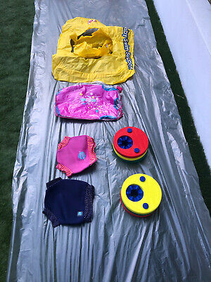 Baby Swimming Bundle Seat Float Arm Bands Wetsuit Swim Nappies