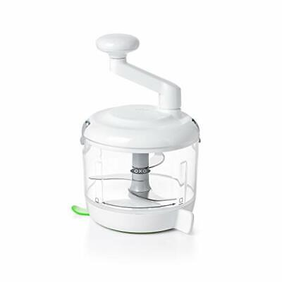 Oxo Manual Food Processor Clear White