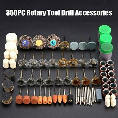 Precision 350PCS Rotary Multi Tool for Dremel Type Accessories Quality UK Stock