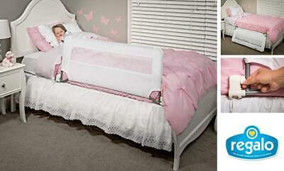 Regalo Swing Down Bed Rail Guard, with Reinforced Anchor Safety System for Kids