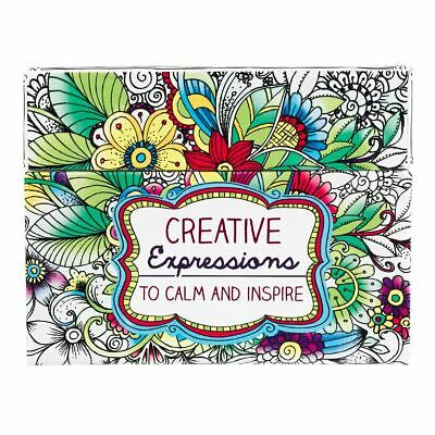 Boxed Colouring Cards: Creative Expressions