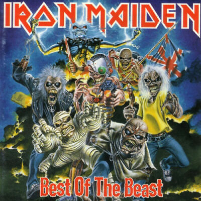 Iron Maiden Best Of The Beast  2CD + 24 Page Booklet  [BRAND NEW]
