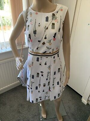 Ted Baker Tetro Colour By Numbers Dress Ted 2 UK 10 BNWT