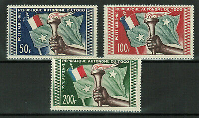 Togo - Airmail - Short Set of 3 Stamps, Never Used