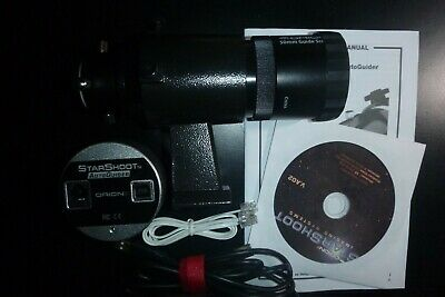 Orion Starshoot Autoguider + 50mm guide scope and software/manual/cables