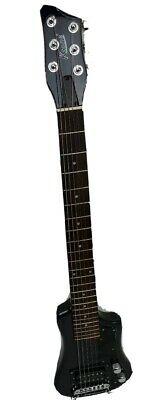 6 String Acoustic Electric Travel Guitar, Black, Free Gig Bag Free Shipping