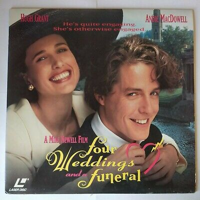 Four Weddings and a Funeral (Laserdisc)