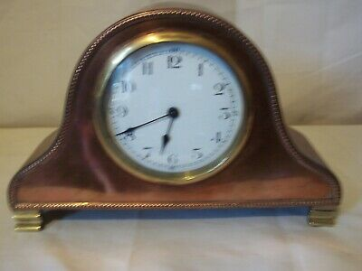 Lovely French Copper And Brass Mantle Clock For Spares Or Repair.