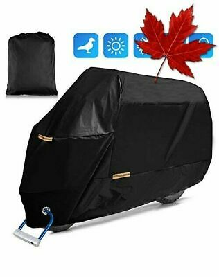 Motorcycle Cover, 210D Premium Quality Waterproof Sun Outdoor Protection, Uni...