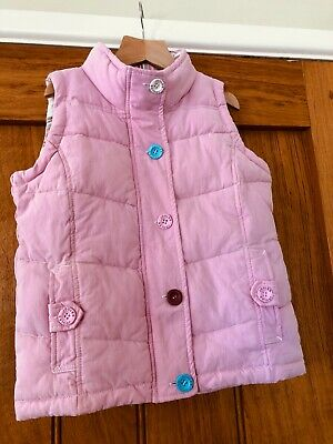 Girl's Joules body warmer gilet, pink, 7 Yrs, excellent condition