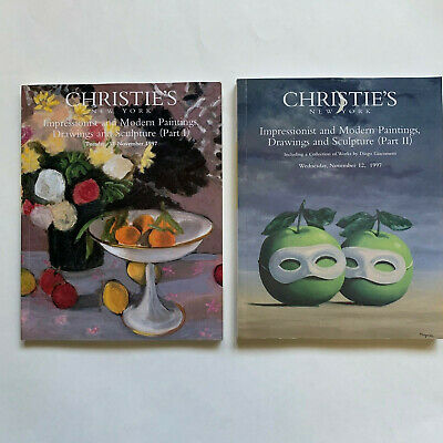 Christie's Impressionist and Modern Paintings, Drawings and Sculpture Bks1 and 2