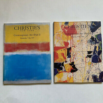 Christie's Contemporary Art ...part 1&2.   May 1997