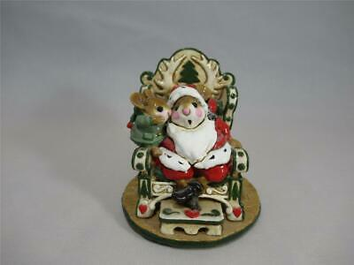 Wee Forest Folk A Christmas Wish - Green Version - Retired - WFF Box