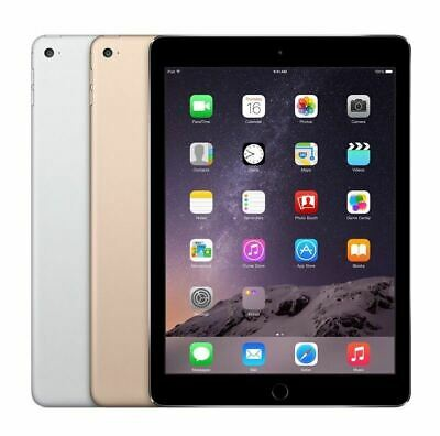 Apple iPad Air 2 16GB 32GB 64GB 128GB - Wi-Fi+Cellular LTE AT&T T-Mobile 9.7in