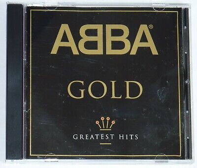 ABBA GOLD - Greatest Hits. (clean, immaculate, with book insert.)