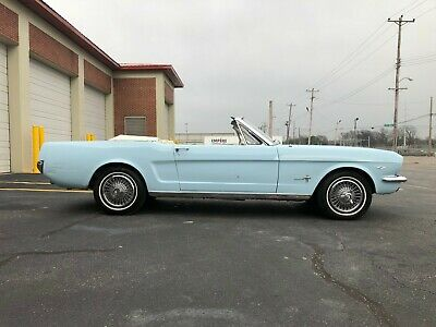 1965 Ford Mustang 2 door 1965 Ford Mustang Convertible factory C code