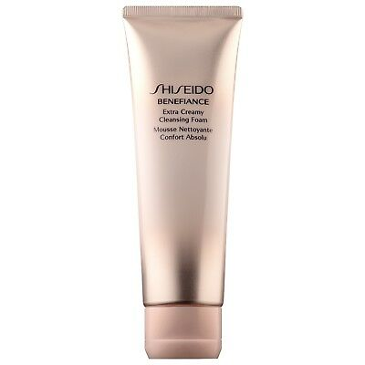 SHISEIDO Benefiance Extra Creamy Cleansing Foam SIZE 4.4 oz/ 125 mL NEW IN BOX
