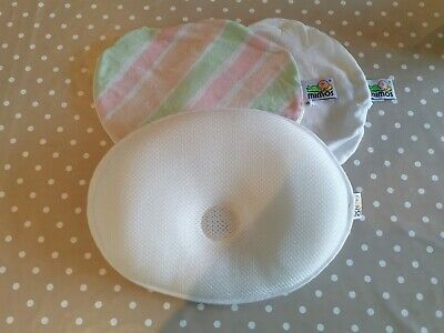 Mimos baby pillow, size small. Prevents /reverses plagiocephaly & flat head.