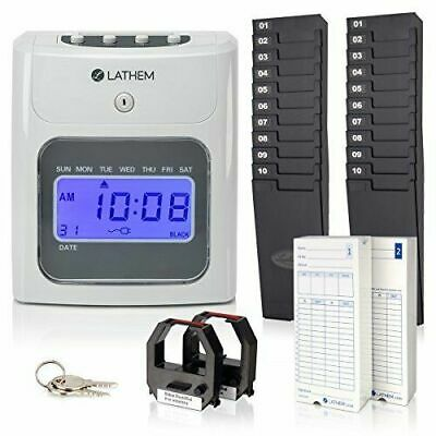 Lathem  Timeclock 400E-KIT Automatic Time Clock Kit (400ekit)