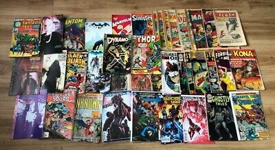 Collection Of Various Vintage & Modern Comic Books Includes DC & Marvel #126