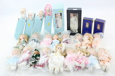 25 x Assorted Porcelain Dolls Inc. Wired Soft Bodies, Atlas, Classic Collection