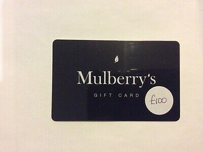£100 Mulberry's Gift Card
