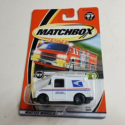 2000 Matchbox #18 Postal Service Delivery Truck