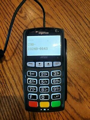 Ingenico iPP320 Credit Card Reader Machine
