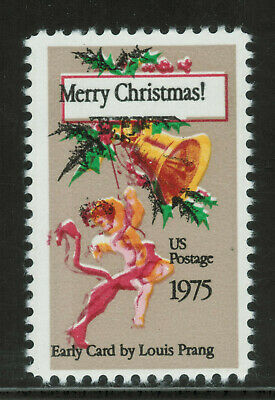 United States of America - ERROR (colour shift) - 1975 Christmas Stamps - MNH