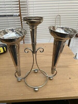 antique epergne Silver Plates EPNS