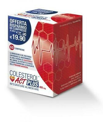 Colesterol Act Plus Integratore Alim 60Cpr