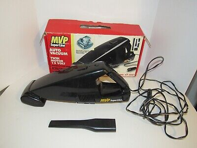 12 Volt Dual Motor w/Power Brush Auto Vacuum Cleaner MVP Super Line A7-3021