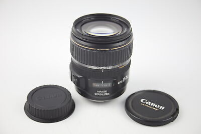 Canon EF-S 17-85mm F/4-5.6 IS USM Ultrasonic CAMERA LENS w/ Lens Caps WORKING
