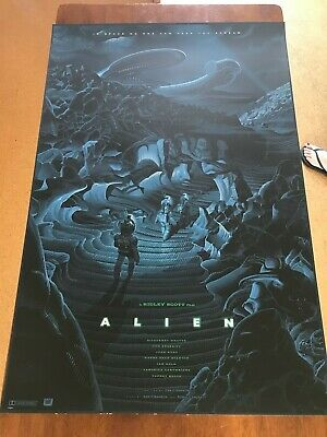 Alien by Laurent Durieux XXX/550 In Hand Numbered Mint