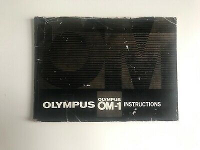Olympus OM-1 Instruction Book Guide
