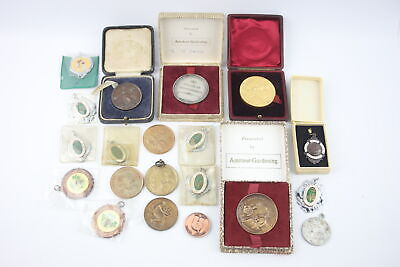 20 x Assorted Vintage Club & Association FOBS / MEDALLIONS Inc Enamel, Bronze