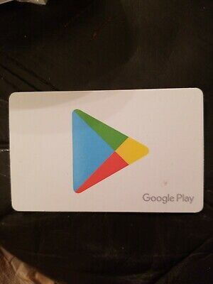 $50 GOOGLE PLAY GIFT CARD WILL ONLY SHIP PHYSICAL CARD - FREE Shipping