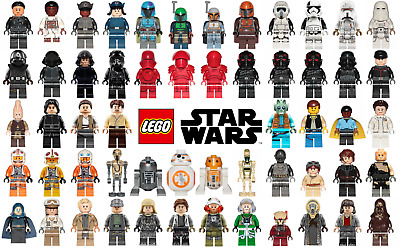 Lego Star Wars Minifigures - Pick-n-Choose - NEW Only - $3.25 Flat Shipping