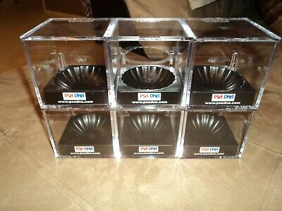 PSA/DNA Ultra-Pro UV Protected Ball Holder (Cube) lot of 6