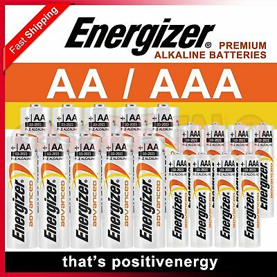 Genuine Alkaline Energizer Advanced AA AAA Batteries Battery